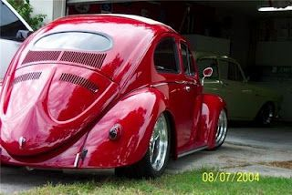 oval window Red VW Brought you by House of Insurance Auto insurance