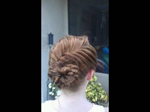 Step by step tutorial for the popular conch shell braid. Inspired by the beautiful conch shell braid on pinterest.