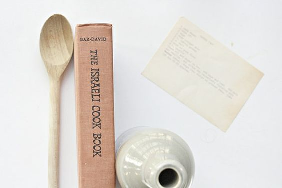 Vintage 1960s Israeli Cookbook The Israeli Cook by msjeannieology