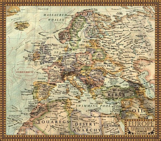 Un mapamundi muestra los estereotipos occidentales sobre los distintos países – RT