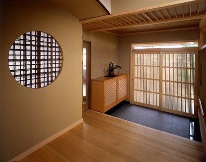 awesome Transition from entryway to actual home...