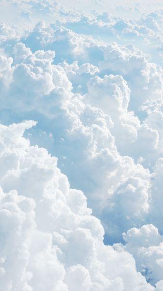 Fille De Nuage Clouds Wallpaper Iphone Landscape Wallpaper Aesthetic Backgrounds