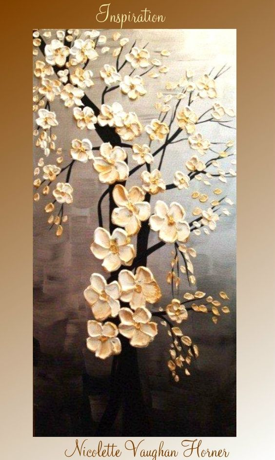 Pintura original abstracto contemporáneo empaste fino por artmod