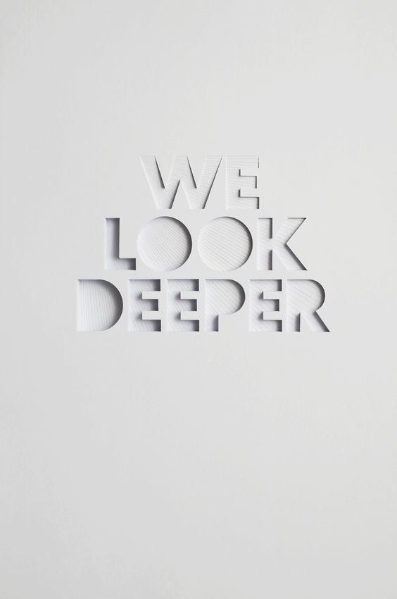 We Look Deeper - Bianca Chang