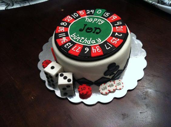 Poker Las Vegas cake by Kim Ellis