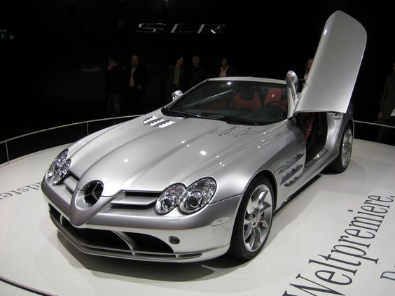 Mercedes mclaren SLR, one of the finest in the sports version.