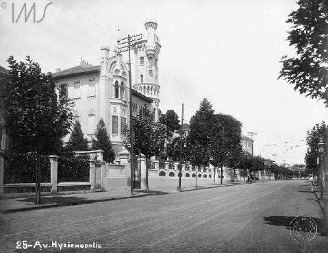 1920 - Avenida Higienópolis. Foto de Guilherme Gaensly. Acervo do Instituto Moreira Salles.: