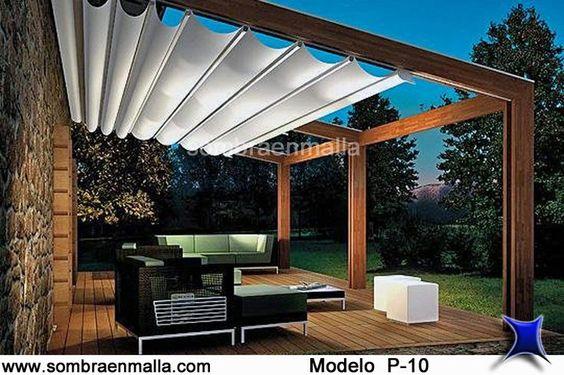 velarias para roof garden - Buscar con Google