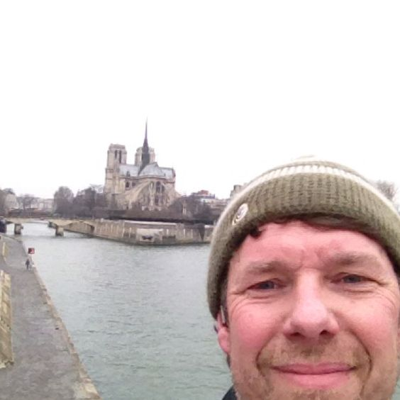 Running in Paris... Doesn't seem like running