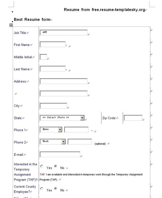 Resume, Resume templates and Templates on Pinterest