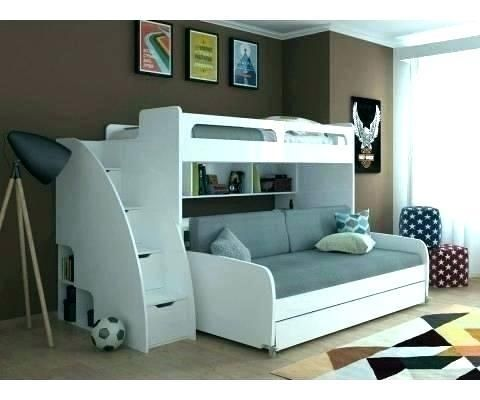 Couch Bunk Bed Ikea In 2020 Bunk Bed With Trundle Kid Beds Kids Bunk Beds