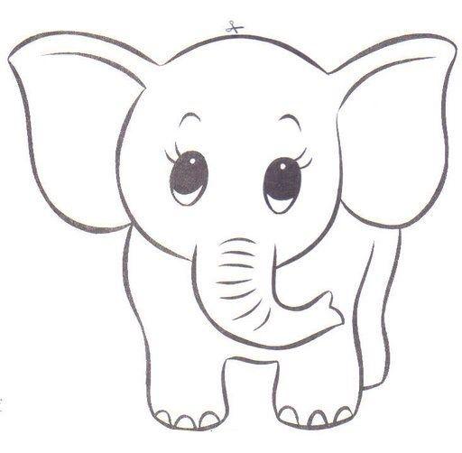 49animalesselva Animales Para Pintar Dibujo De Elefante Dibujo De Animales