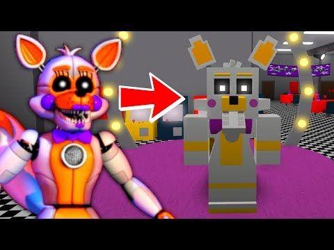 Becoming Lolbit In Roblox Roblox Animatronic World Youtube
