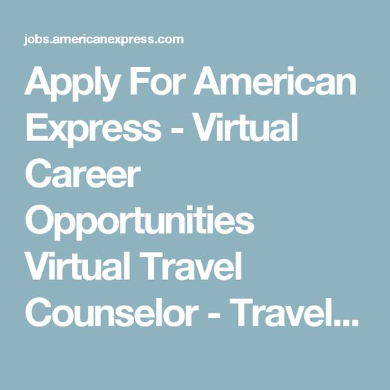 apply for american express virtual career opportunities virtual travel counselor travel and lifestyle servicing - 2nd Shift Careers 2nd Shift Employment 2nd Shift Jobs