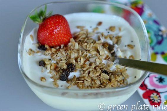 Clean Yogurts via Green Plate Rule