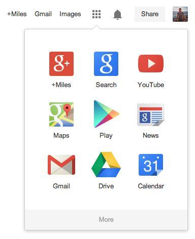 Google reveals new logo and redesigned navigation bar