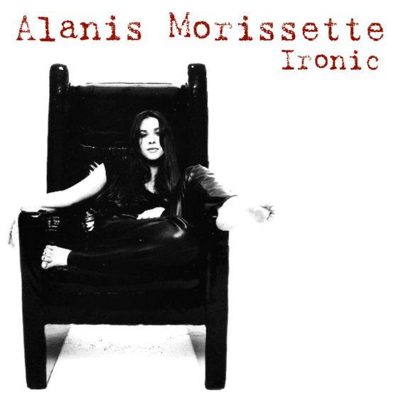 Alanis Morissette – Ironic (single cover art)