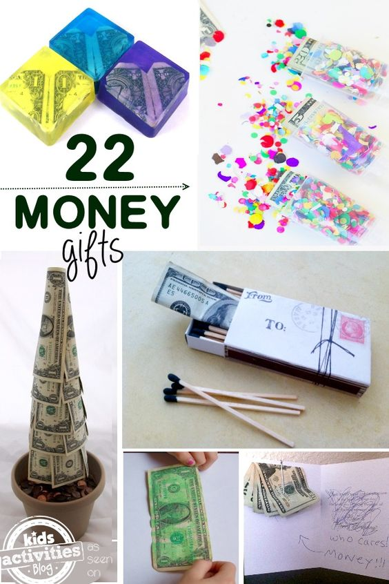 creative ways to give money for christmas pinterest