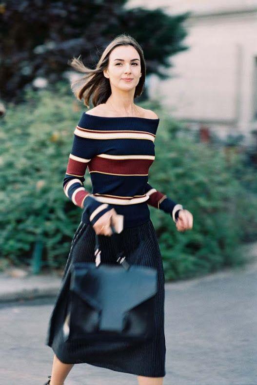 Un sweater que tal vez veas colgado y no te imagines lo divino que queda puesto. Probate!