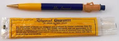 Mr. Peanut Pencil