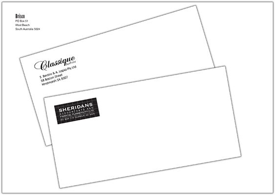 Look Professional And Have Your Own Logo And Address Details Printed On To Your Envelopes A6 Size Through To C4 P Business Envelopes Printed Envelopes Print