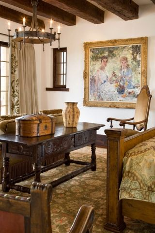 Colonial Master Bedrooms Consoles California Masters Curtains Bedrooms