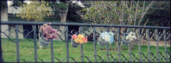DIY. Un florero con cubos de metal