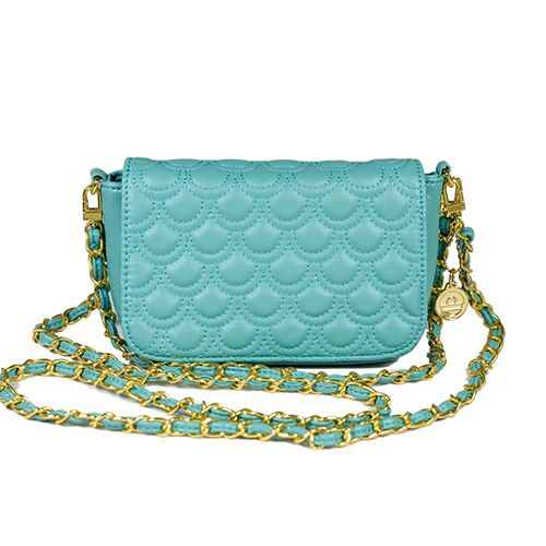 Little Black Bag | Quilted Flap Clutch by Big Buddha