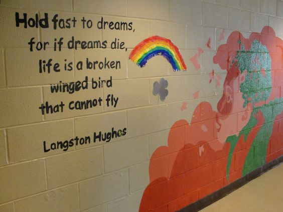 Please think of a thesis for Langston Hughes.?