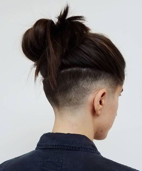 Extremely Cool Side Buzz Hairstyles 2019 for Teenage Girls
