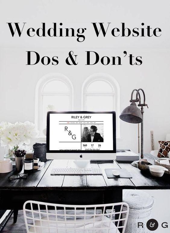 Wedding website domain name tips you'd never think of & more.. https://www.rileygrey.com/ (wedding planning, wedding website examples, wedding website designs, DIY wedding, How-to) https://www.rileygrey.com/