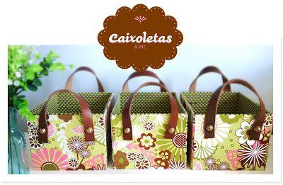 .: CAIXOLETAS :.