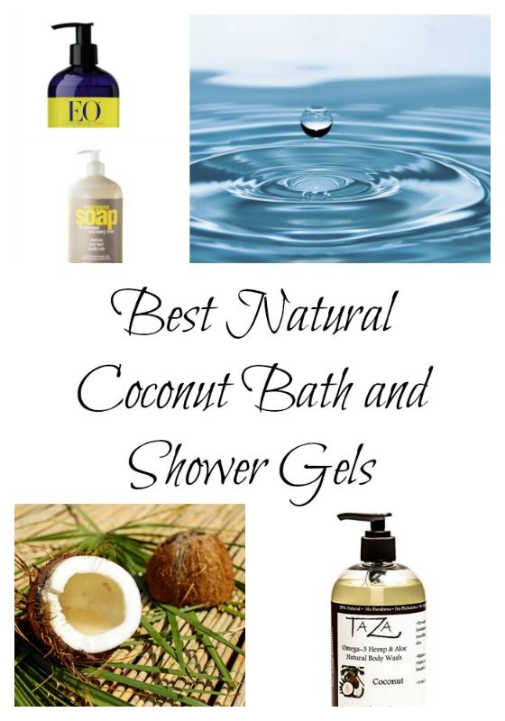 The top picks in 2017 of coconut based and coconut oil shower and bath gels and body washes.