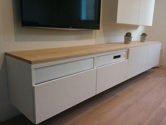 Ikea Besta, parquet chêne, scandinave, uppleva, scandinavian, salon ...
