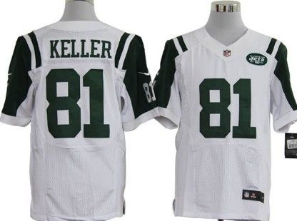 New York Jets 81# Dustin Keller Green Limited Jersey