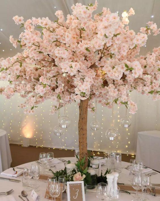 Wedding Centerpieces Blossom Tree Wedding Cherry Blossom Theme Cherry Blossom Wedding