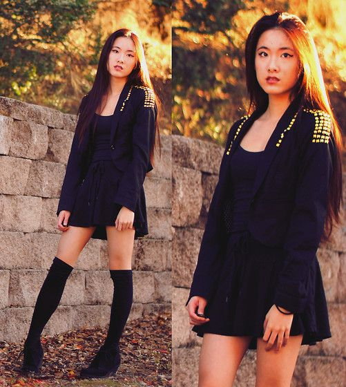 Art in Our Blood: DIY STUDDED BLAZER