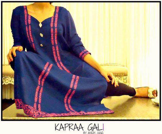 Kapraa Gali By Anum Jung Eid-Ul-Azha Collection 2013 For Women