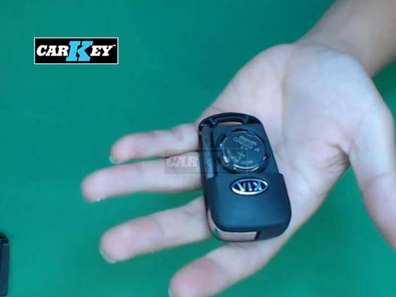 Thay pin chìa khóa ô tô Kia Morning