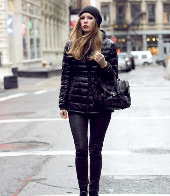 Black Uniqlo down jacket | Uniqlo Down jackets and Black
