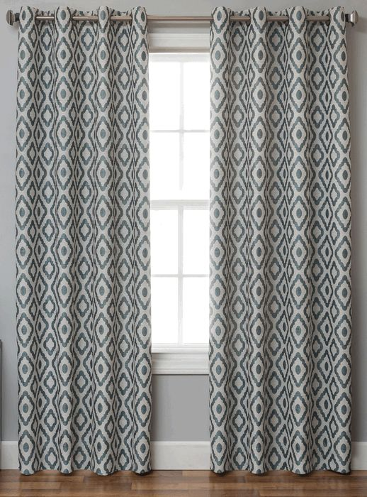 Gallery For Gt Grommet Curtains Pattern