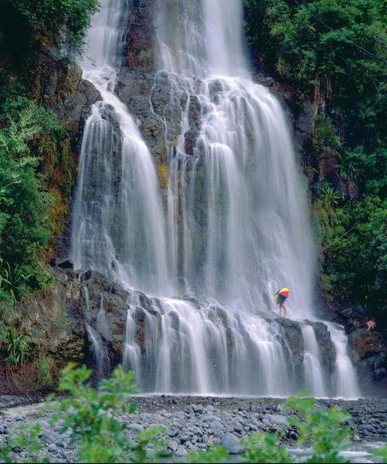 Cascade Quinquina, à l'île de La Réunion