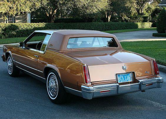 Black 1979 Cadillac ELDORADO license plate car tag 79 Eldo Biarritz Caddy