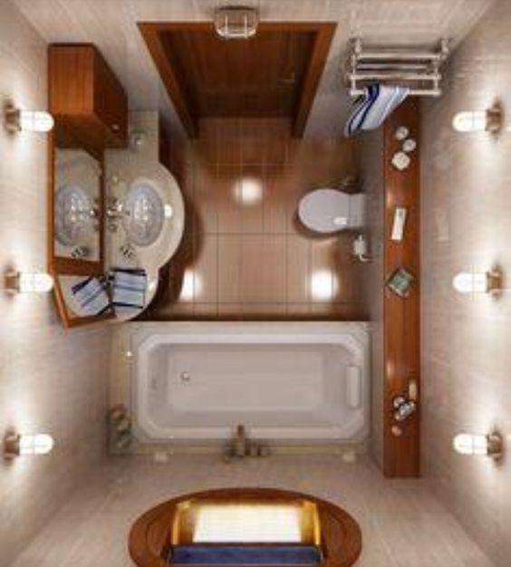 نمادج وافكار تصاميم حمامات صغيرة جدا وبسيطة 2020 In 2020 Bathroom Layout Bathroom Interior Design Bathroom Design Small