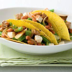 Recept - Taco's met varkensvlees en witte kaas - Allerhande