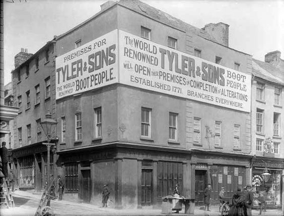 IRELAND - Mr Tyler boot shop.