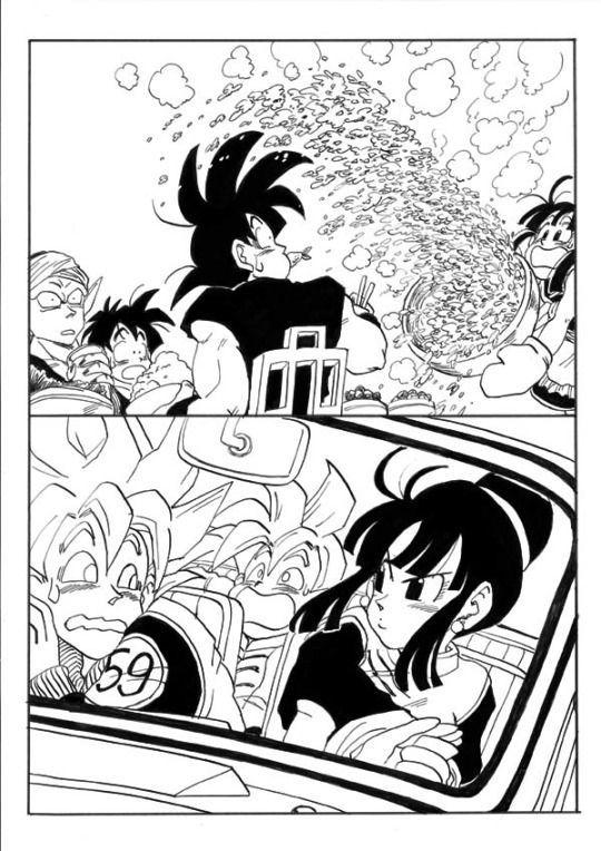 Imagenes Y Doujinshi De Gochi Y Parejas Dbzs Dragon Ball Artwork Dragon Ball Super Funny Dragon Ball Wallpapers