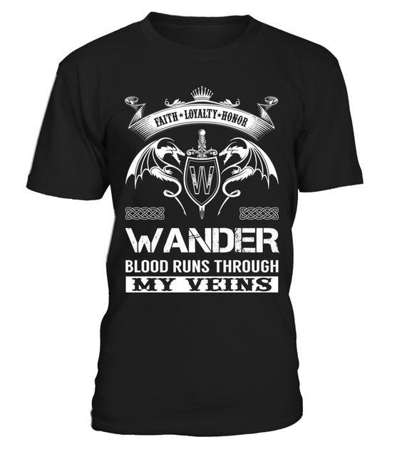WANDER Blood Runs Through My Veins