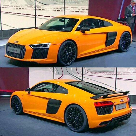 • The 2016 Audi R8 V10 plus •