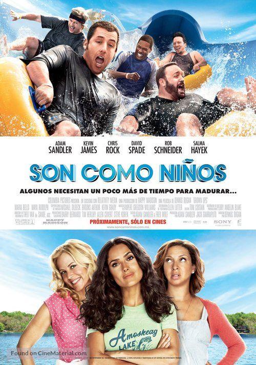 Grown Ups Son Como Ninos 2010 Argentinian Movie Poster Algunos Necesitan Un Poco Mas De Tiempo Para M Peliculas De Comedia Peliculas Comicas Peliculas